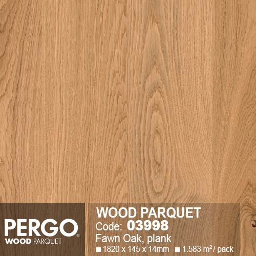 Sàn Gỗ Pergo Wood Parquet 03998-2