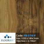 Sàn Nhựa Floorbit FB510-V loctienphat