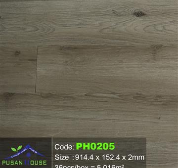 Sàn Nhựa Pusan House PH0205